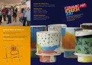 2010 Leaflet, Front, Ceramic Art London