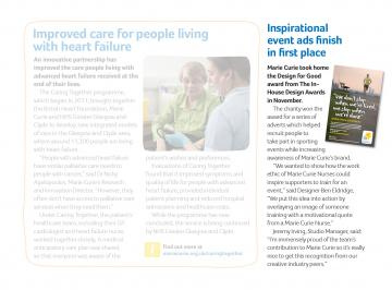 Article in Marie Curie People, Third Party Events
