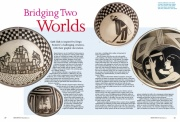 Bridging Two Worlds, Ceramic Review