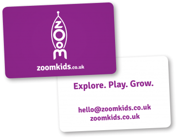 Business card, Zoomkids