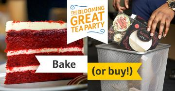 Facebook ad Bake or Buy, Blooming Great Tea Party 2018