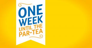 Facebook one week shareable graphic, Blooming Great Tea Party 2018
