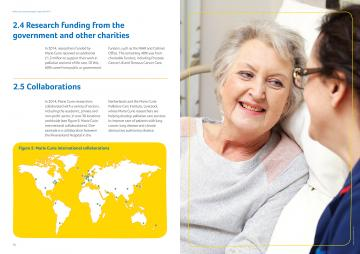 Pages 30-31, Research impact report 2014-15
