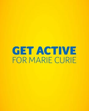 Social video, Get active for Marie Curie